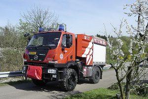 U 20 (U 405.050), Feuerwehr.