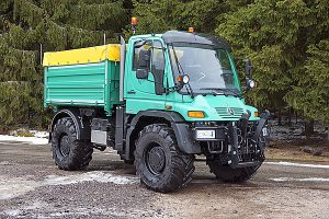 U 500 (U405.201), Euro 5, mit landwirtschaftlicher Ausstattung.