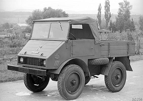 Unimog U 25, Baureihe 70200 Vorserienfahrzeug