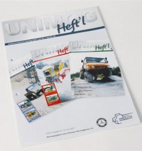 Themen der Unimog-Heft'l Nr. 1 bis 55